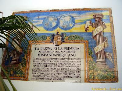 Monasterio Rabida, Lugares Colombinos Huelva