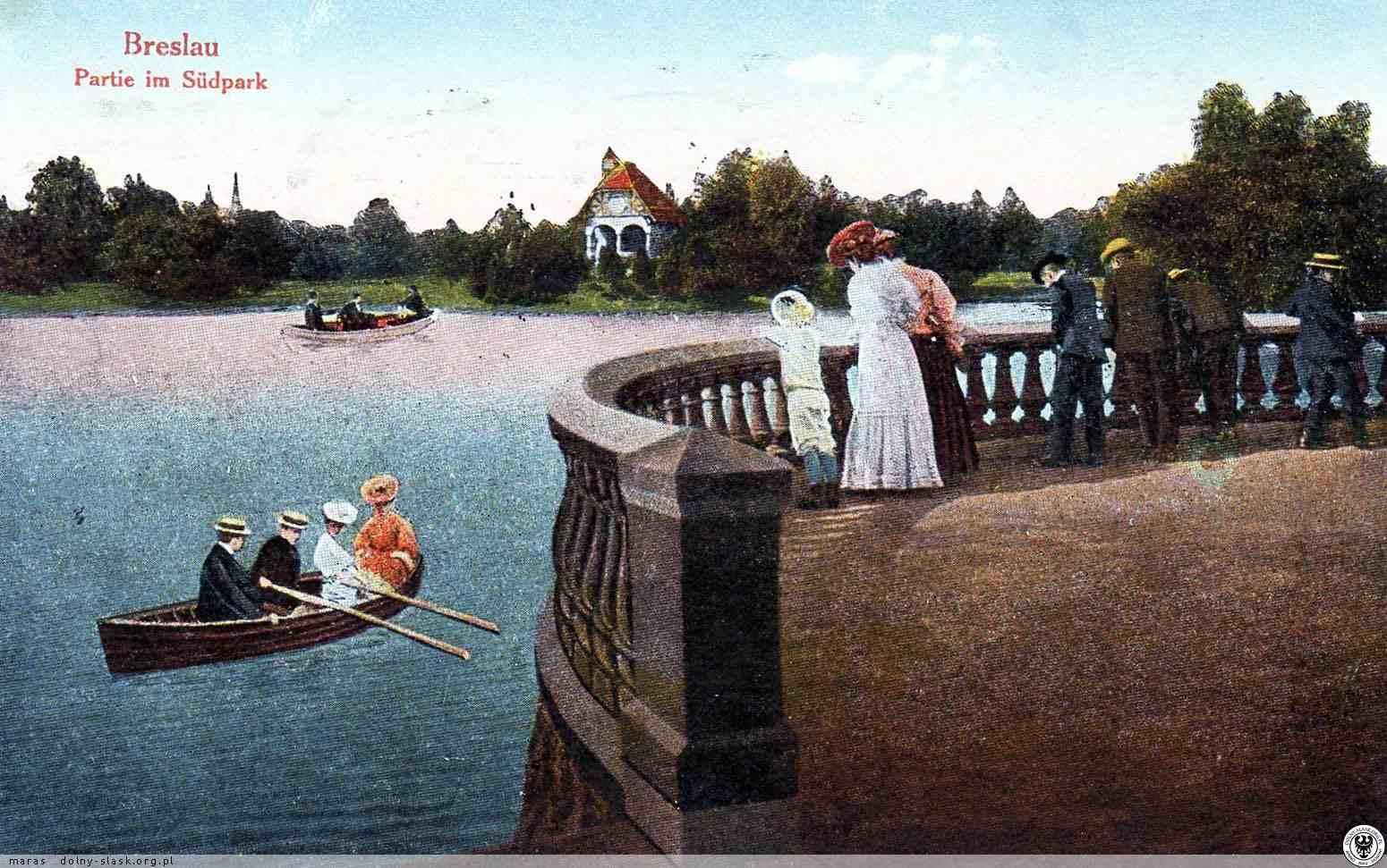 Park Południowy Wrocław i taras landsberga