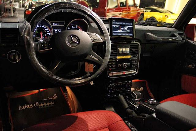 2016 mercedes g amg interior