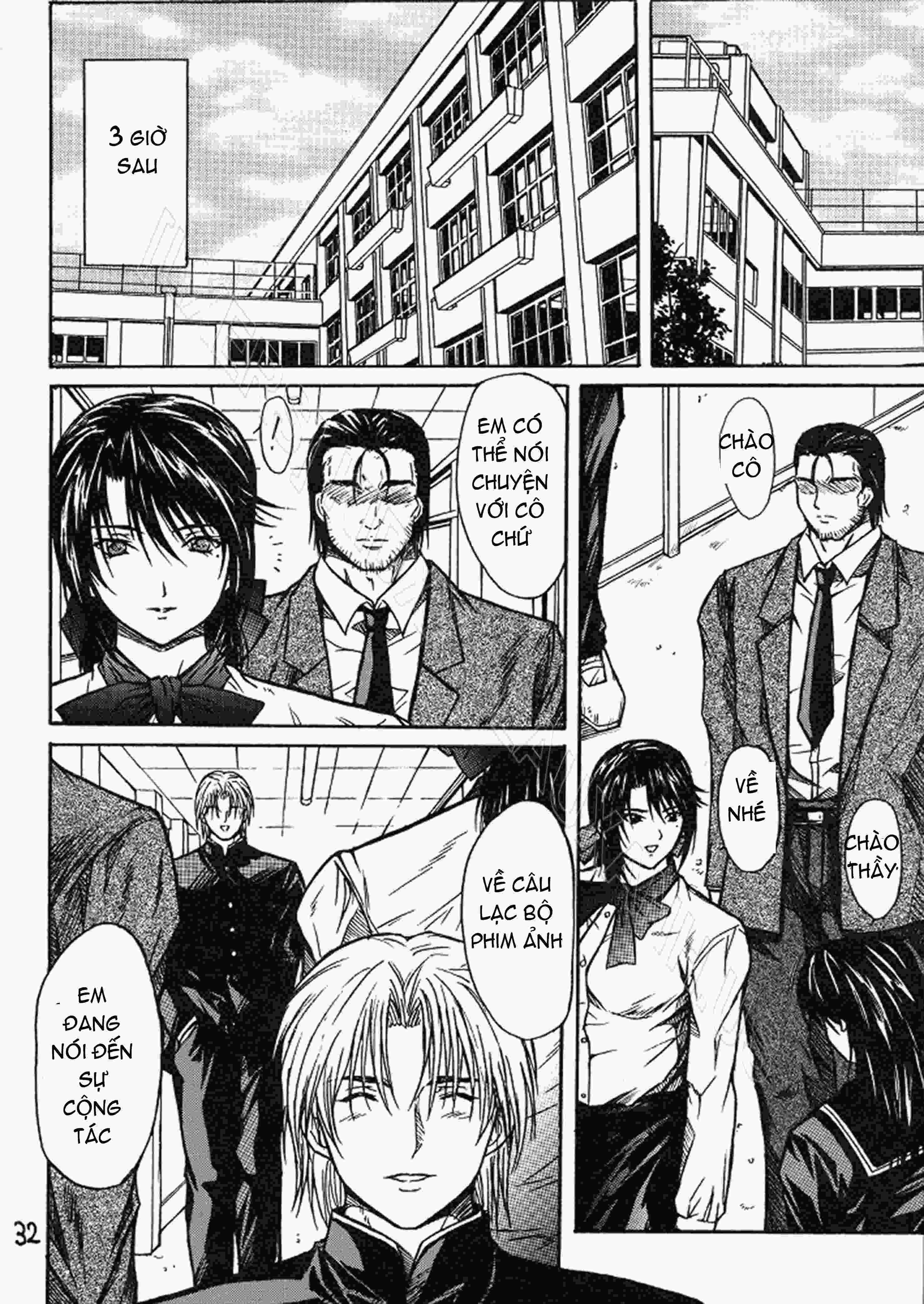 TruyenHay.Com - Ảnh 31 - Ryoujoku Rensa Chapter 1