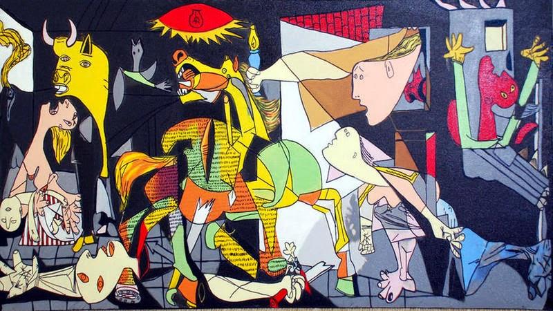 Bien-aimé Sept tableaux pour se familiariser avec Picasso | amidache HM91