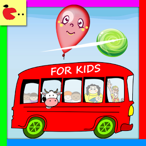 Candy And Balloons – Bus Game By Little Apple – Android App Featured
