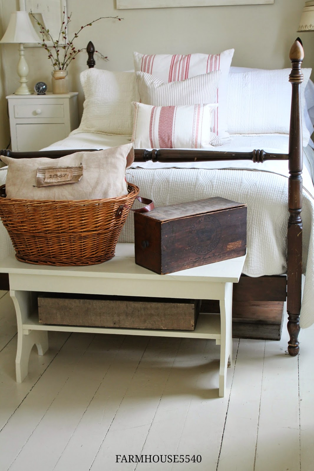 Bedroom maybe mine on pinterest country living for Farmhouse guest bedroom