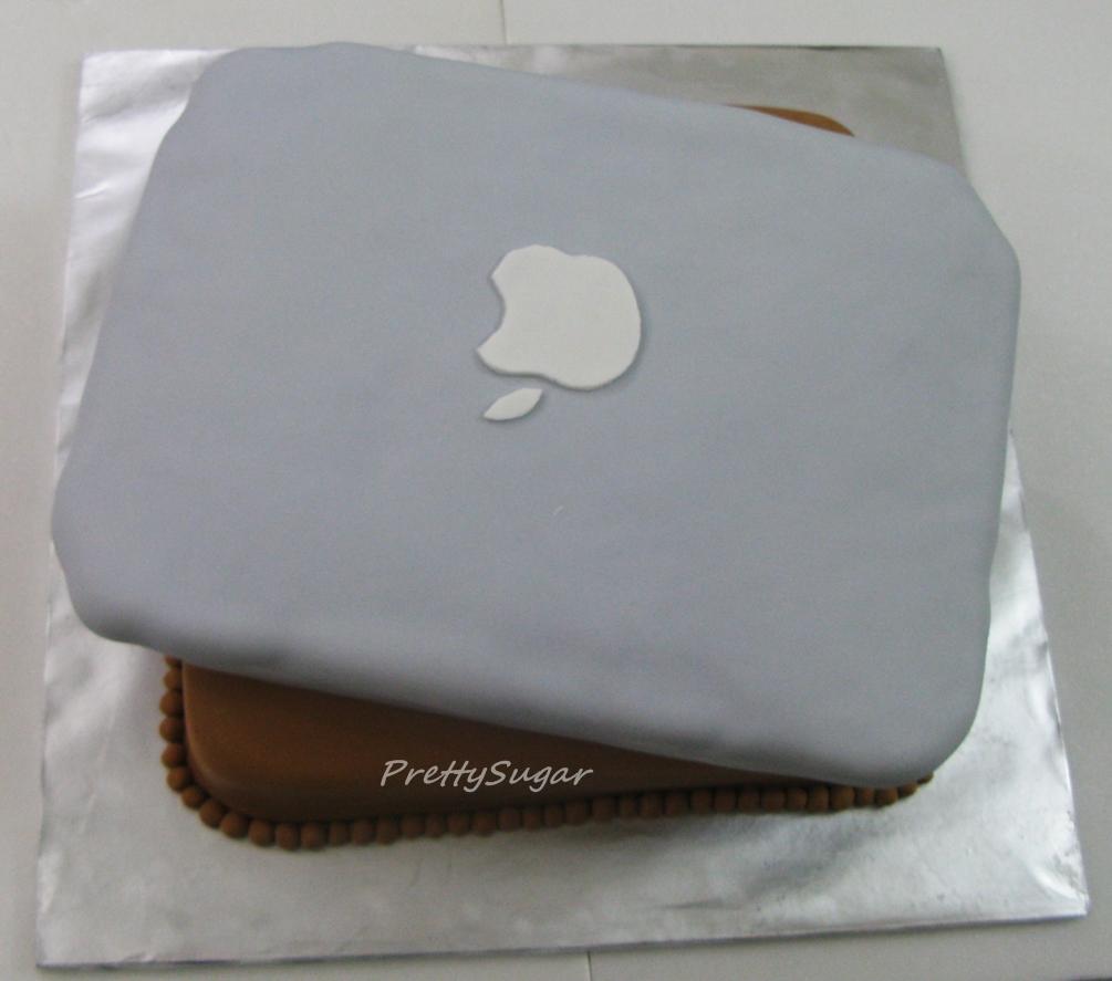 Sugar & Vanilla Bakery: Macbook Pro Cake