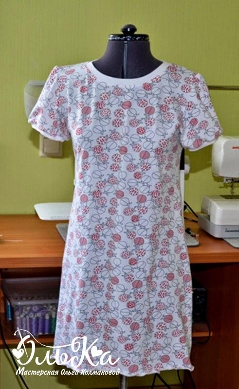 Шьем женскую сорочку
