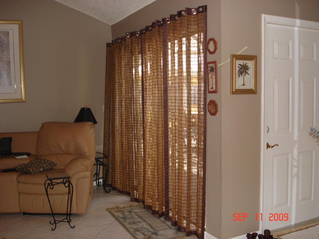 Bamboo Sliding Glass Door Curtains 1024 x 768