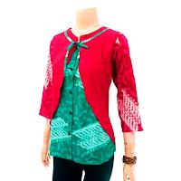 Blouse Batik Wanita DBT-2838