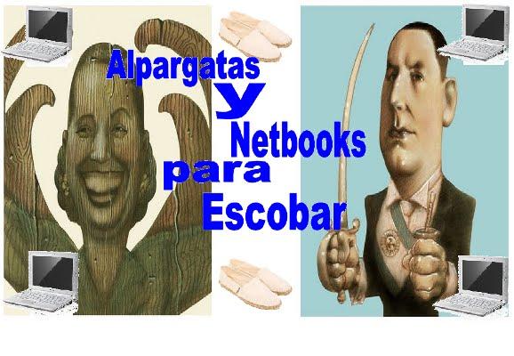 Alpargatas y Netbooks para Escobar