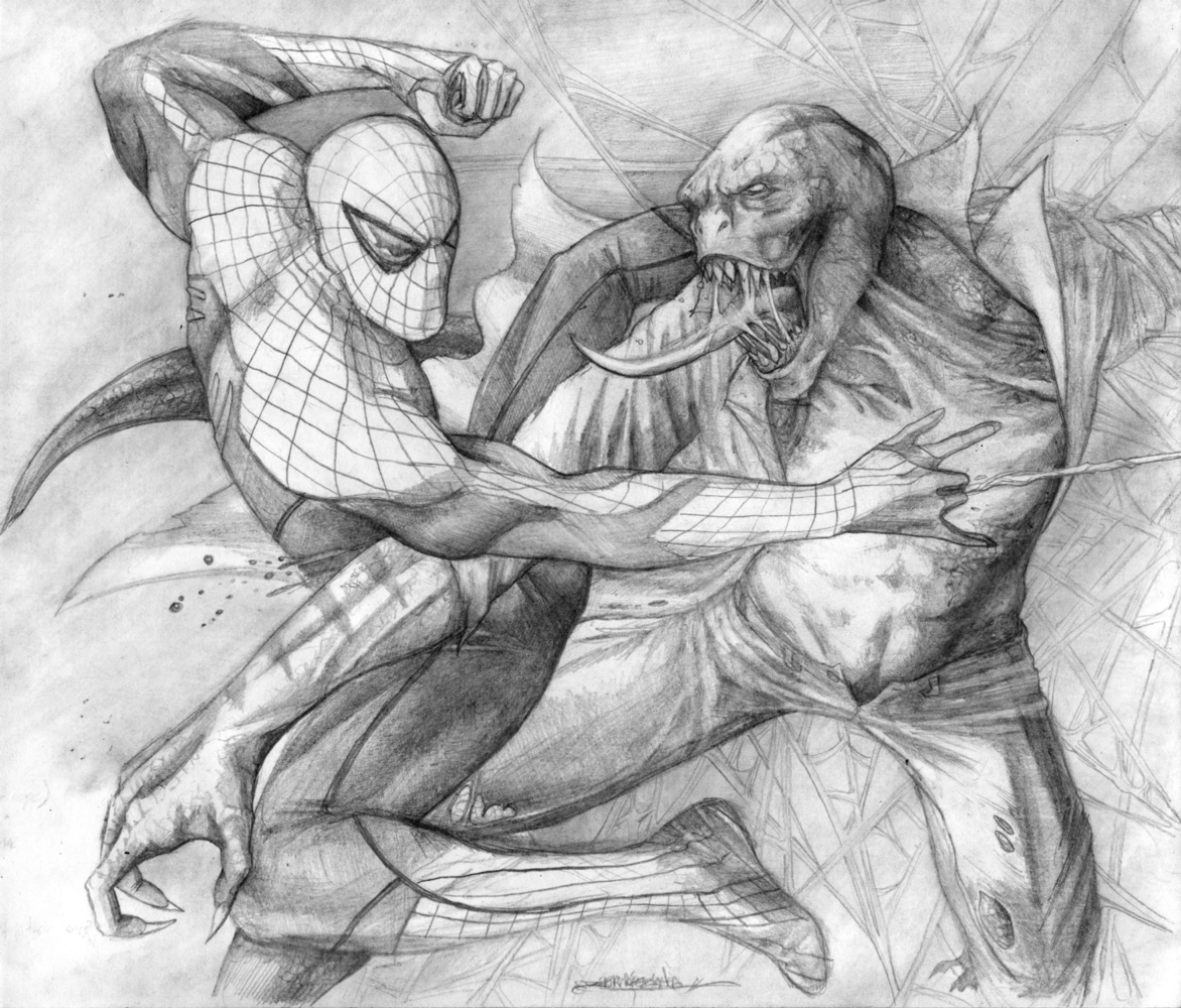 Spider-Man Vs Lizard picture