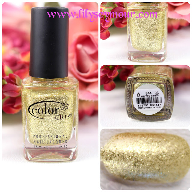 Sultry Diva Glitter Nail Polish
