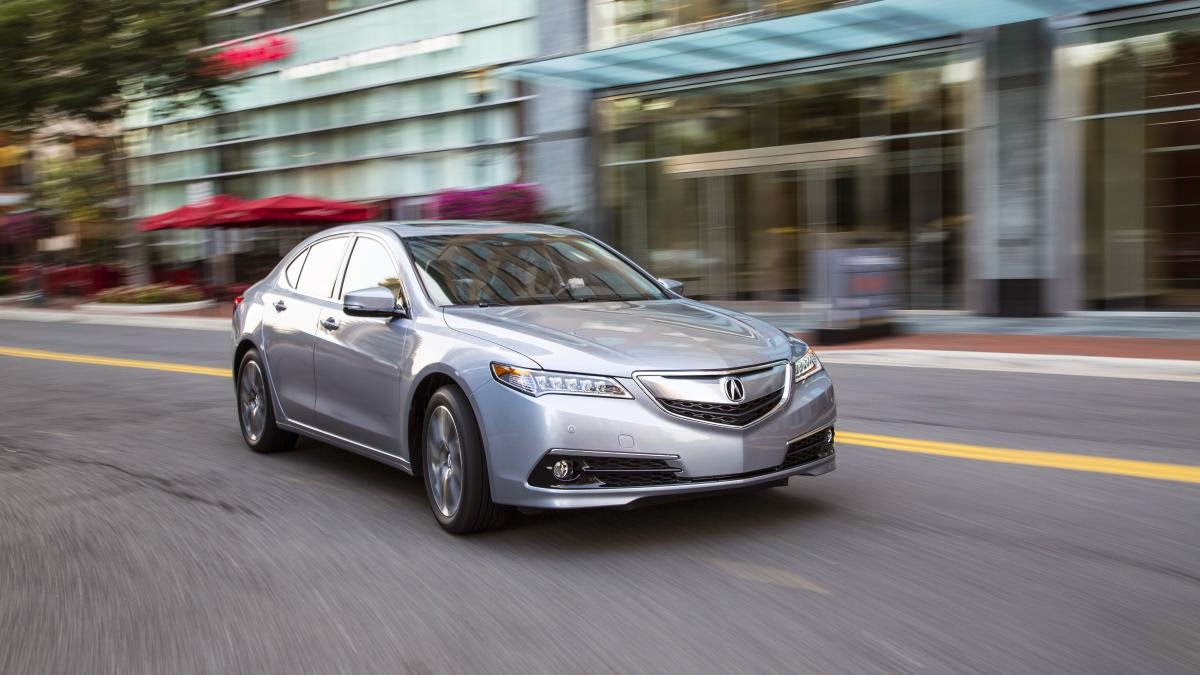 2015 Acura TLX first drive (for real this time)