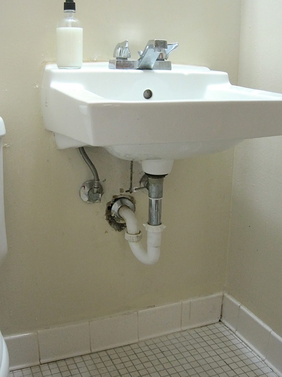 The Project Lady Make It Yourself Faux Sink Cabinet