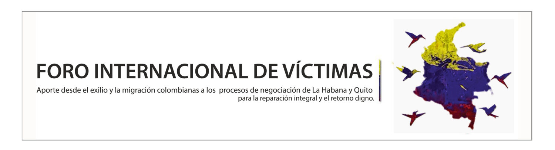 Foro Internacional Víctimas