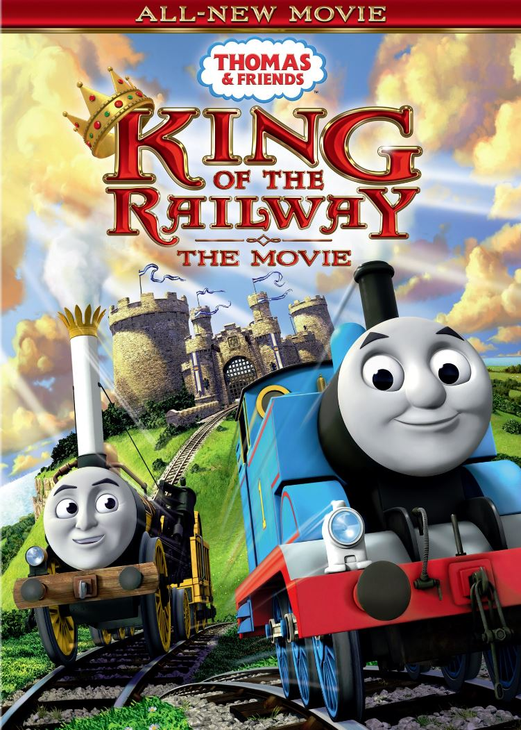 Joel Chambers Portfolio: Thomas and Friends: DVD Covers
