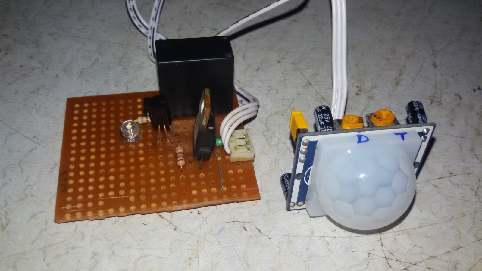 Electronics Tricks And Tips  Pir Human Sensor With Buzzer