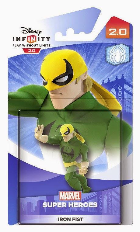 TOYS : JUGUETES - DISNEY Infinity 2.0 Figura Iron Fist : Marvel Super Heroes  Producto Oficial | Videojuegos | A partir de 7 años  PlayStation 4, Nintendo Wii U, PlayStation 3, Xbox 360, Xbox One