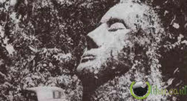 Patung Batu Kepala Guatemala