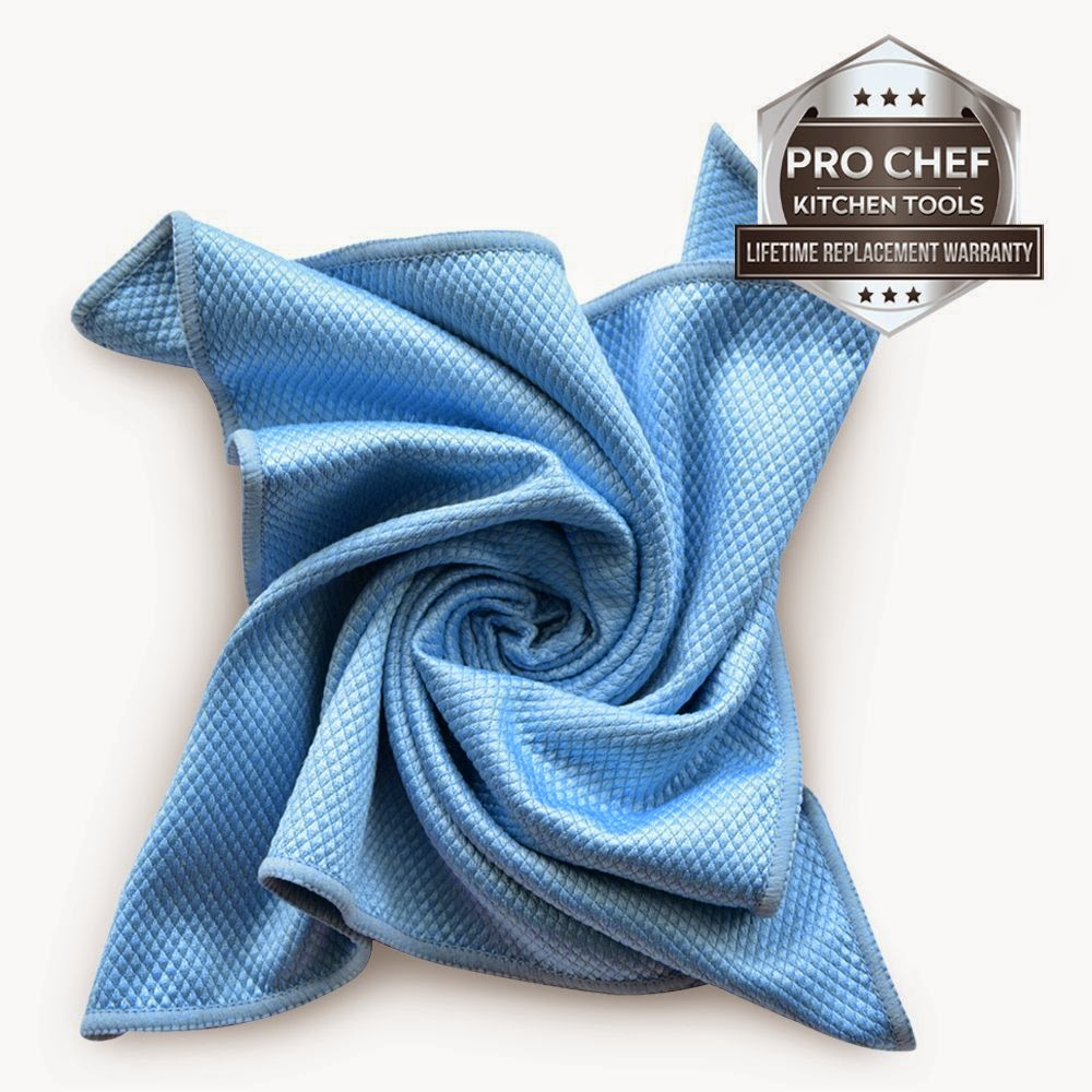 Microfiber Cleaning Cloths for Polishing Stainless Steel Kitchen ...