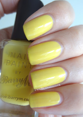 Barry M Lemon Ice Cream