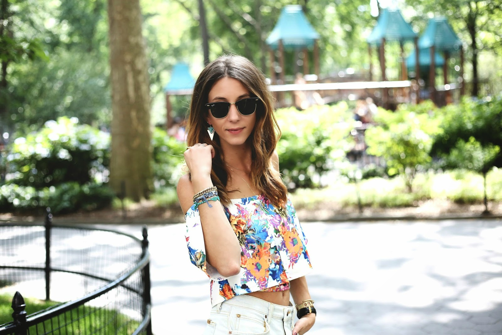 tropical, summer, tobruckave, crop top
