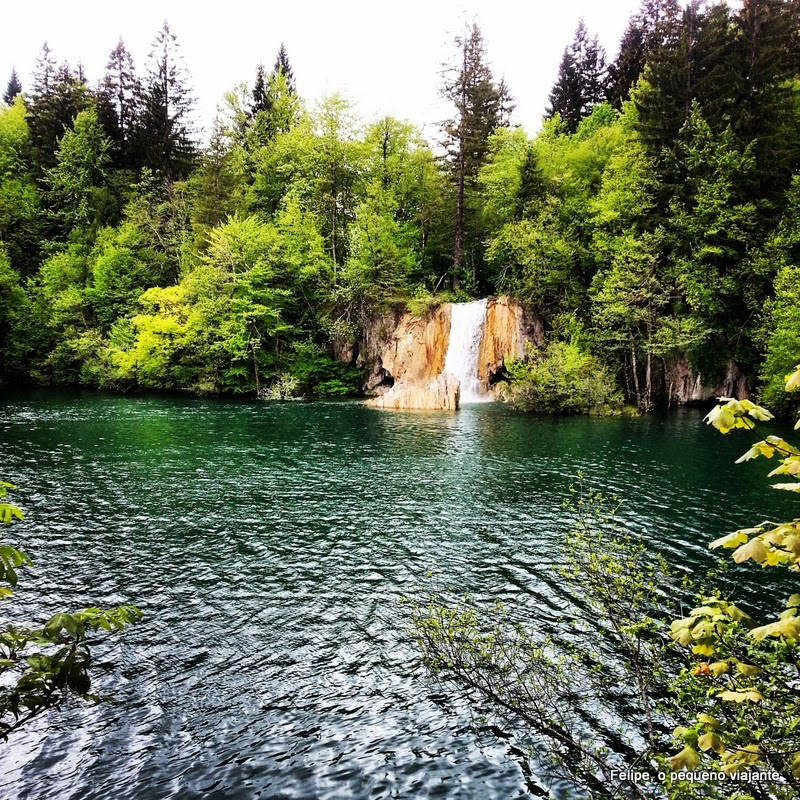 Camping Plitvice: Felipe, O Pequeno Viajante: Plitvice Lakes National Park