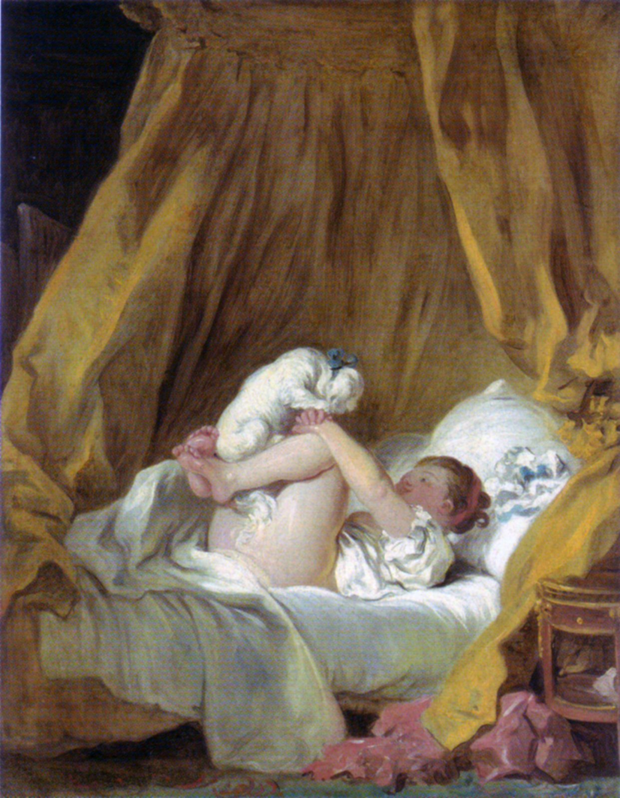 With A Prodigious Output Of Over 550 Paintings, Fragonard Outlived His Own  Fame. The Rococo, And All Associated With It, Was Rejected By Art  Connoisseurs ...