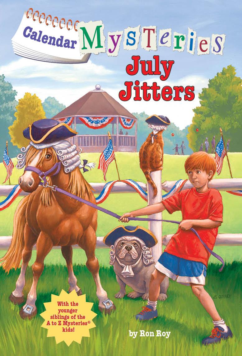 Calendar Mysteries May Magic Reading Level : Johnstevengurney june jam makes best books list for