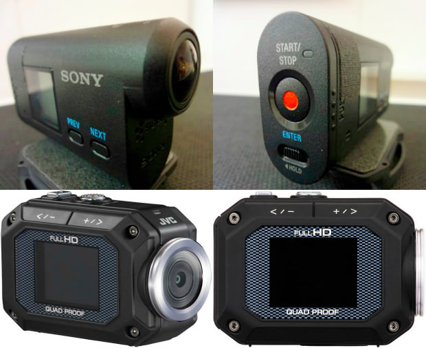 sony and jvc announce their action cameras gopro is not. Black Bedroom Furniture Sets. Home Design Ideas