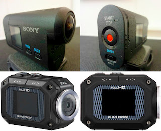 Sony and JVC Action Sports Cameras
