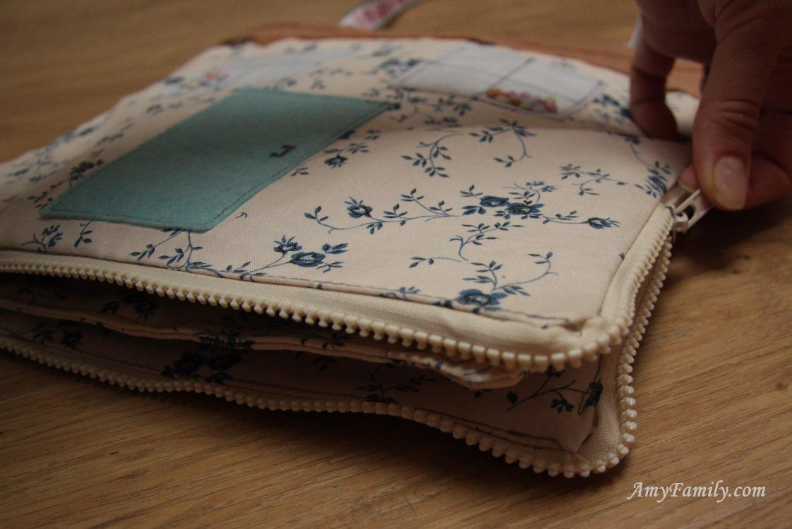 Кукольный домик-сумка своими руками из ткани