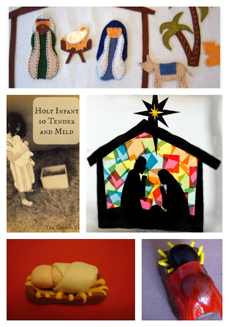 Nativity crafts, activities, and books for kids