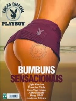 capa Playboy Especial   Bumbuns Sensacionais Janeiro 2014