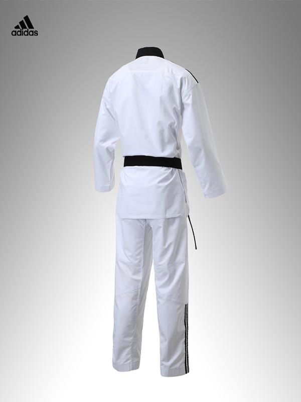 FIGHTER 3 Taekwondo Uniform with shoulder stripes Adidas Taekwondo Dobok