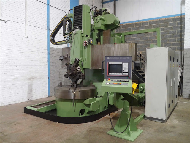 WEBSTER & BENNETT CNC VERTICAL BORER