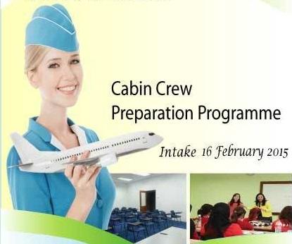program persediaan krew kabin, krew kabin, cabin crew, nak jadi pramugari, jom terbang di udara