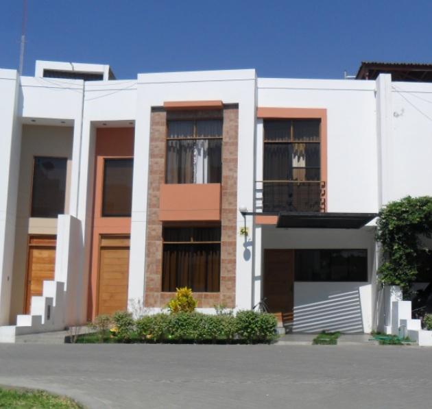 les traemos más imágenes de fachadas de casas sencillas y modernas
