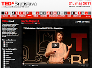 AT TEDX BRATISLAVA 2011
