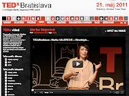 AT TEDX BRATISLAVA 2011