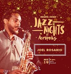 Jazz Nights at Acrópolis presenta este miércoles 19 de Diciembre a partir de las 6:00PM