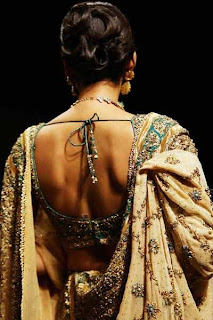 saree Blouse Back Designs - Choli Back Design Pictures - blouse design ideas 2012
