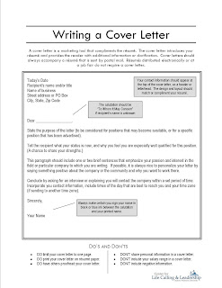 Cover Letter Addressee Unknown