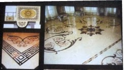 "Marble Floor Inlay by Anand Marble Handicrafts - Promotional Campaign by ""Kind Attention""."