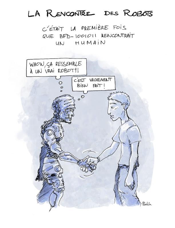 rencontre humain