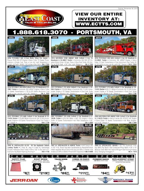 East Coast Car Hauler Sales