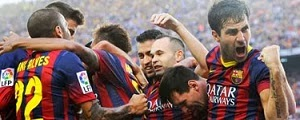 Barcelona Fc 2013/2014 Match