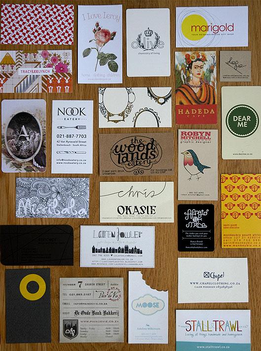 Inspiring business cards lanalou style inspiring business cards reheart Images