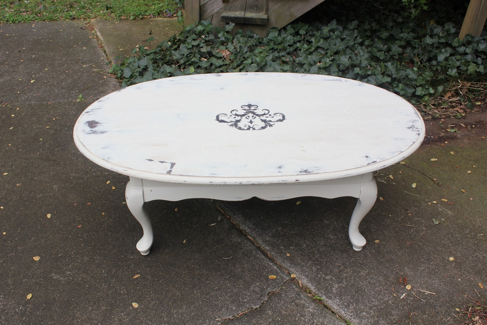 Mad Mary s Junk Yard Shabby Chic Buroque Coffee Table