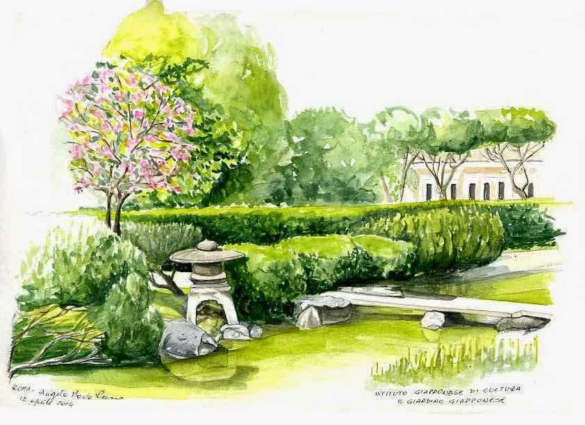 disegno Casa Giardino : Angela Maria Russo: IL GIARDINO GIAPPONESE