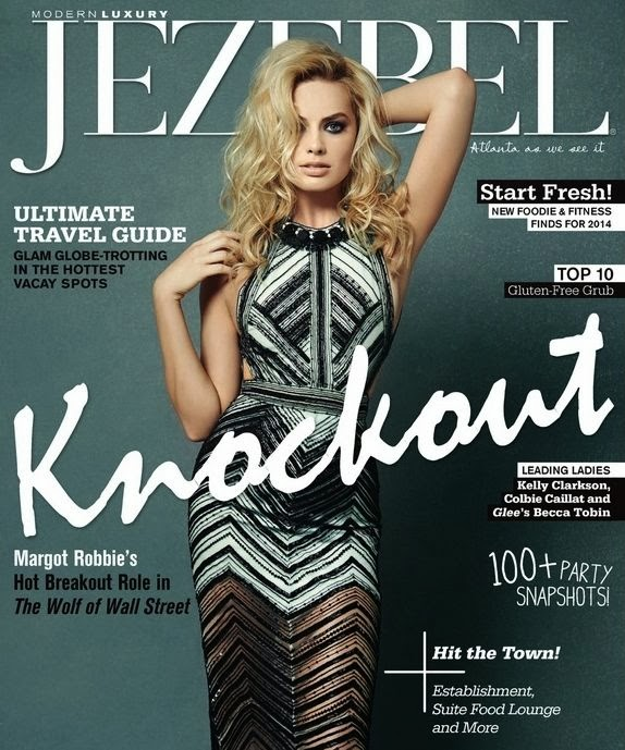 Magazine Cover : Margot Robbie Magazine Photoshoot Pics on Jezebel Magazine US January 2014 Issue