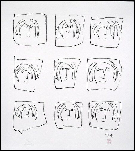 Line Drawing John Lennon : Cyberenglish the john lennon letters